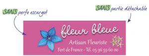 Etiquette pour fleuriste EAT3 - SANS perfo SANS partie détachable