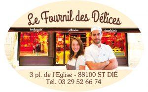 Étiquette boulangerie modèle E1591Q