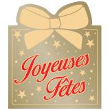 Etiquette Joyeuses Fêtes Réf ETF47