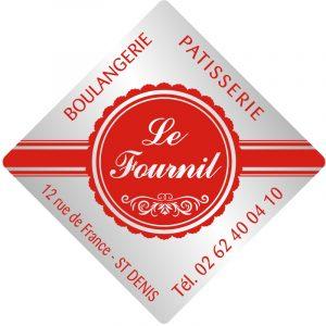 Étiquette boulanger pâtissier E124-6