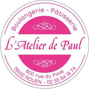 Étiquette boulanger pâtissier E1538-2