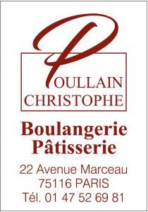 Étiquette boulanger pâtissier E984-5