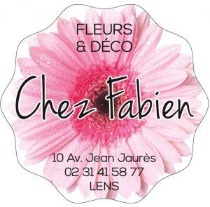 Étiquette fleuriste E1664-2