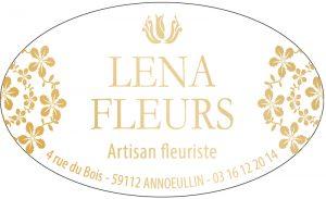 Étiquette fleuriste E234-4