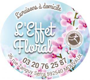 Etiquette fleuriste modèle E1598Q