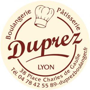 Étiquette boulangerie pâtisserie modèle E1262-2