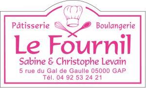 Étiquette boulanger pâtissier modèle E647