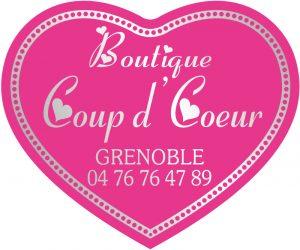 Etiquette  bijoutier coeur E1323
