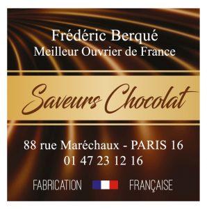 Étiquette chocolatier E1720Q