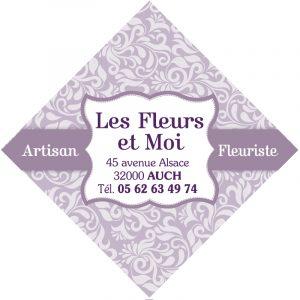 Étiquette fleuriste E786-6Q