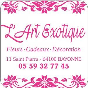 Etiquette fleuriste modèle E1439