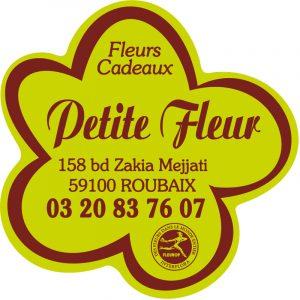 Etiquette adhésive fleuriste E985-2