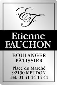 Étiquette Boulanger pâtissier E659-2