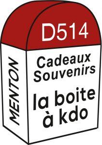 étiquette adhésive boutique cadeaux - déco E1881
