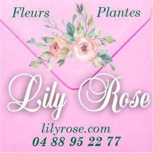 étiquette adhésive fleuriste E1125-2Q
