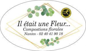 étiquette adhésive pour fleuriste E234-5Q