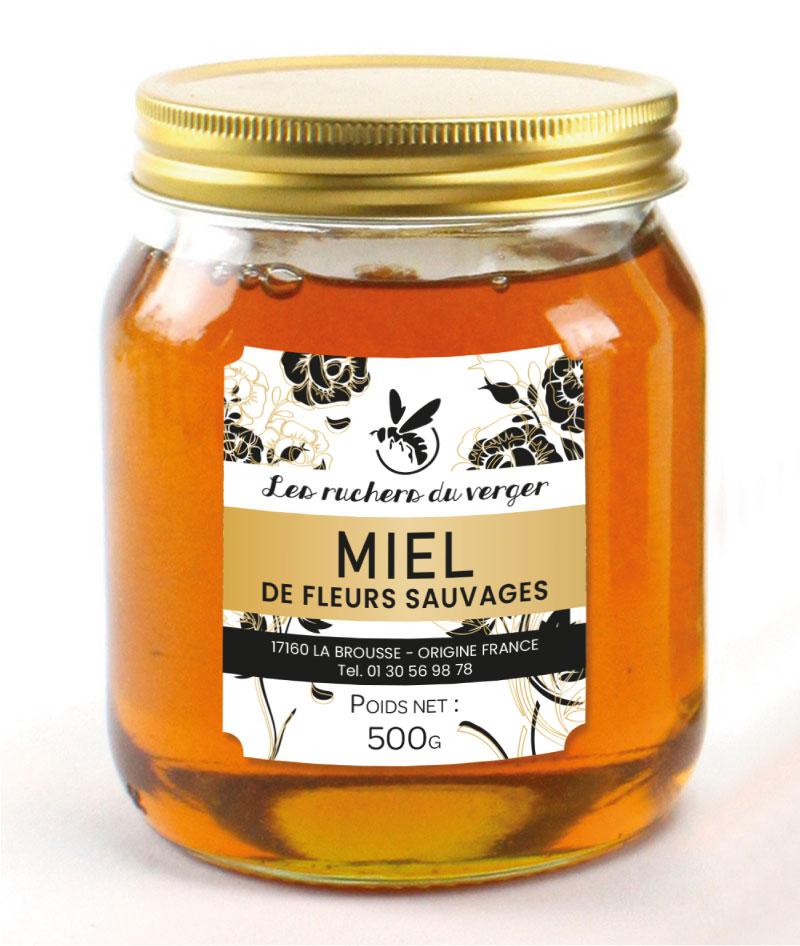 Rubaco-étiquette-pot-de-miel
