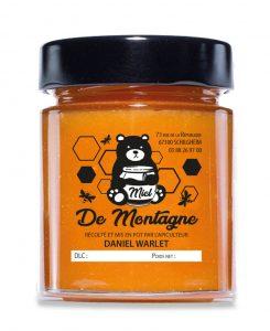Étiquette adhésive apiculteur E192-4