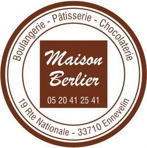 Étiquette adhésive boulanger pâtissier E46-3