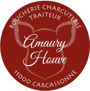 Étiquette adhésive boucher charcutier traiteur E46-4