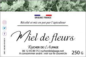 Etiquette adhésive Apiculteur E746-4